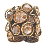 Konplott - Sparkle Twist - Beige, Crystal Golden Shadow,...