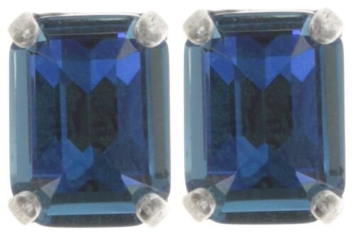 Konplott - To Katharine With Love II - Blau, Antiksilber, Ohrringe mit Stecker